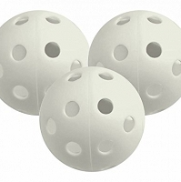 Longridge White Airflow Practice Balls