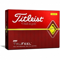 Titleist TruFeel Yellow Golf Balls