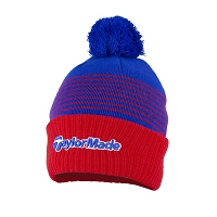 TaylorMade Mens Bobble Beanie