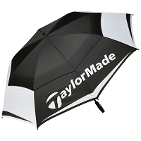 "TaylorMade 64"" Double Canopy Umbrella"